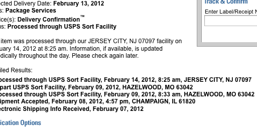 "What does ""Expected Delivery Date"" mean to you, USPS?"