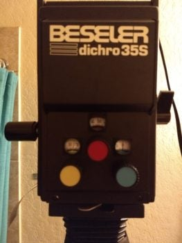 How To (Questionably) Re-align a Beseler Dichro 35s