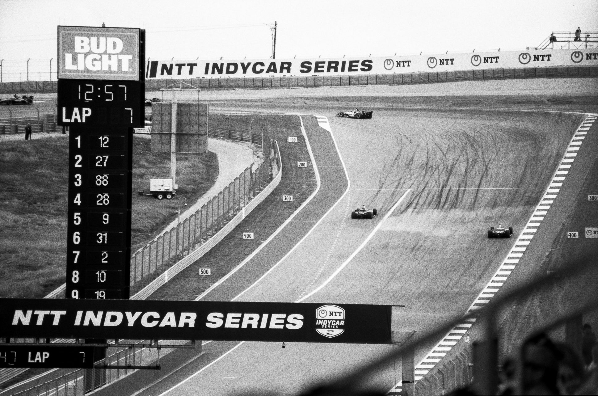 IndyCar at COTA and in Black and White