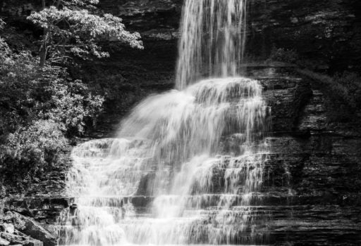 Cascade Falls Darkroom Session